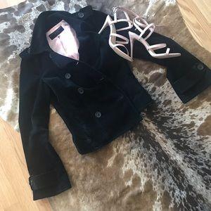 Juicy couture jeans corduroy blazer sz M
